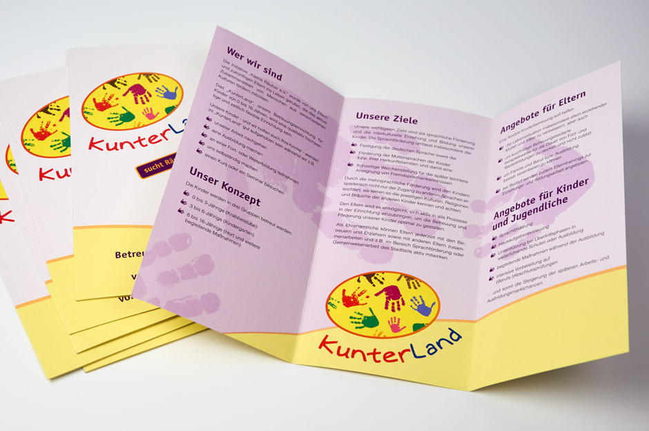 Projektbeispiel Corporate Design Kunterland